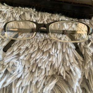 VERSACE mod 309 rectangular eyeglasses